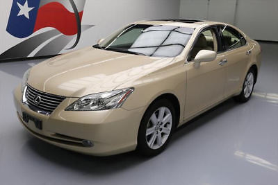 2008 Lexus ES Base Sedan 4-Door 2008 LEXUS ES350 CLIMATE SEATS SUNROOF POWER SHADE 81K #250973 Texas Direct Auto