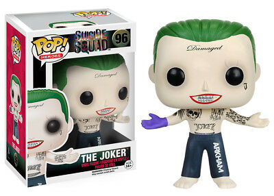 Funko Pop Heroes Suicide Squad: The Joker Shirtless Vinyl Figure Collectible Toy