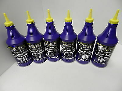 Royal Purple 75w90 Synthetic Max Gear Oil 6-Pack 01300