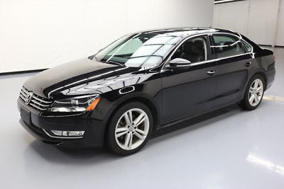 2012 Volkswagen Passat SE Sedan 4-Door 2012 VOLKSWAGEN PASSAT SE SUNROOF NAV HTD SEATS 44K MI #082017 Texas Direct Auto