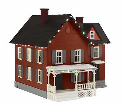 Mth 30-90548 #6 Farm House With Operating Christmas Lights