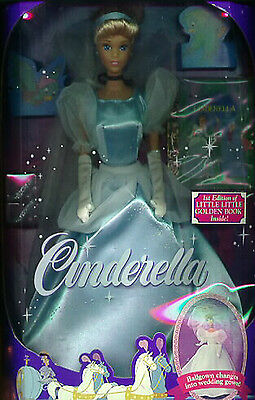 Disney Cinderella in Blue gown Rare Doll