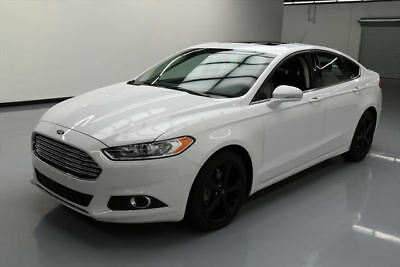 2016 Ford Fusion SE Sedan 4-Door 2016 FORD FUSION SE SUNROOF BLUETOOTH REAR CAM 20K MI #297579 Texas Direct Auto
