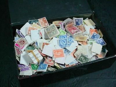 NobleSpirit NO RESERVE {3970} Fantastic Unsearched WW Mix of Stamps in Cigar Box