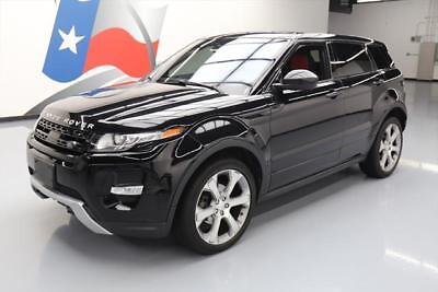 2015 Land Rover Evoque Dynamic Sport Utility 4-Door 2015 LAND ROVER EVOQUE DYNAMIC AWD PANO NAV 20'S 53K MI #040418 Texas Direct