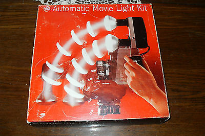 LIGHT KIT Vintage General Electric AUTOMATIC MOVIE