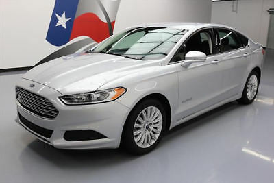 2015 Ford Fusion SE Hybrid Sedan 4-Door 2015 FORD FUSION SE HYBRID REAR CAM ALLOY WHEELS 47K MI #184918 Texas Direct