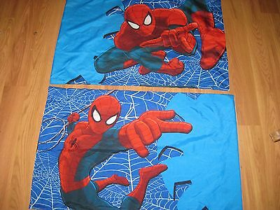 2 Standard 2 sided Spider-man  Pillowcase