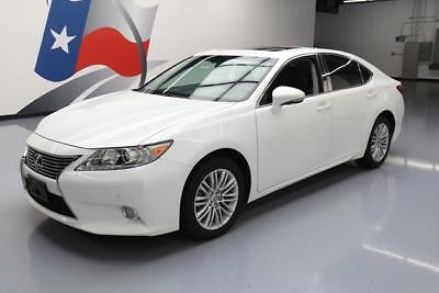 2013 Lexus ES Base Sedan 4-Door 2013 LEXUS ES350 LUXURY CLIMATE LEATHER SUNROOF NAV 32K #037859 Texas Direct