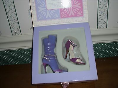 Just The Right Shoe- 2002-Mother, Daughter Gift Set-Duet -Nib