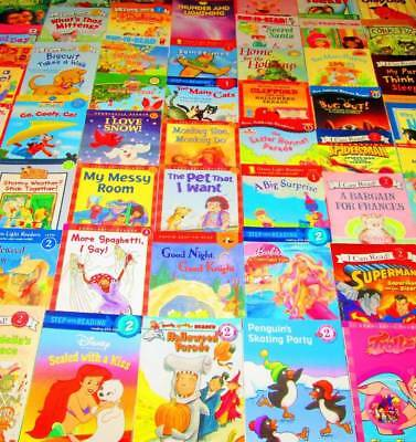 MIXED LEVELED READER Lot of 59-Levels-Early, 1,2 & 3-I Can Read, Step .., Schola