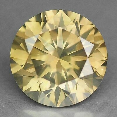 0.75 Cts SPARKLING UNTREATED GREENISH YELLOW NATURAL DIAMONDS- SI1