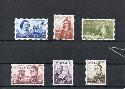 Australia 1963-65 Navigator Set Once Light Mounted Mint Set