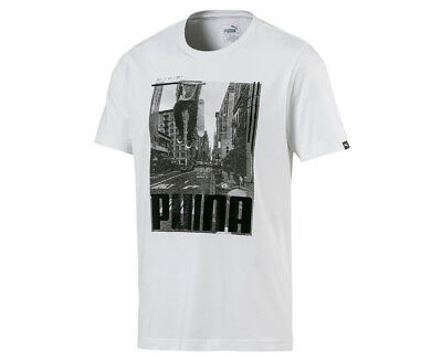 Puma Men's City Photo Tee - White
