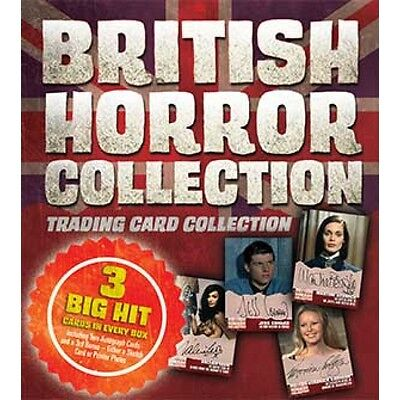British Horror Collection 92 Card Base And 18 Card Chase Set Unstoppable Cards