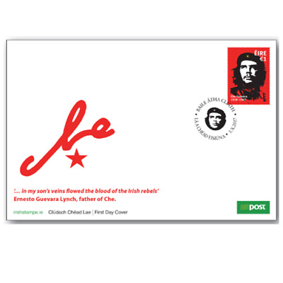 2017 Ireland Official Che Guevara Fdc-Rare Now As Completely Sold Out In Ireland