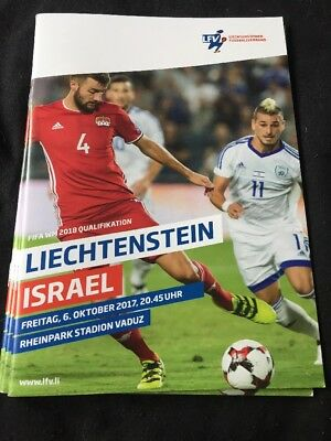 Liechtenstein V Israel 6th October 2017 World Cup Qualifier