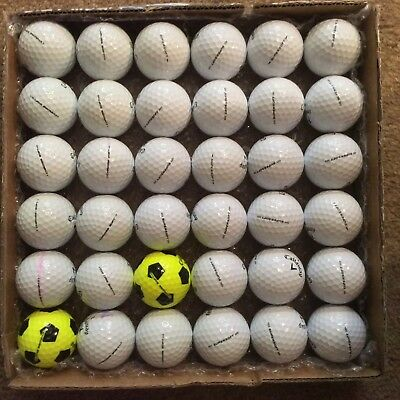 36 CALLAWAY balls in superb A1++ condition  CHROME SOFT & SUPERSOFT