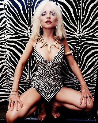 "Blondie / Debbie Harry 10"" x 8"" Photograph no 20"