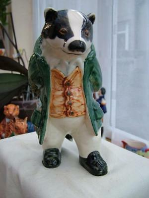 "James Elliot Cinque Rye Pottery ""Mr Badger"".Country Gentleman,s Series."