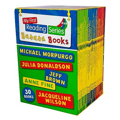 My First Banana Reading Series 30 Books Children Collection Brand New Box Set