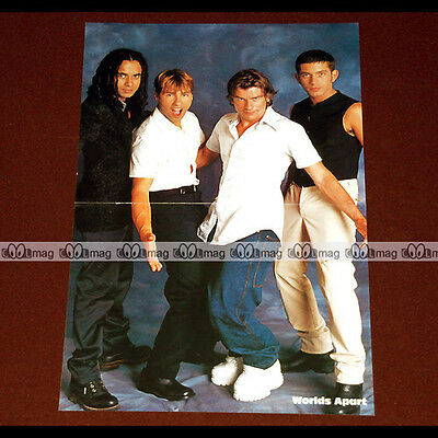 WORLDS APART Nathan, Steve, Schelim & Cal (Boys Band 90's) - Poster #PM964
