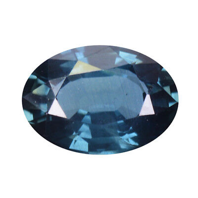 0.75Ct AMAZING RAREST ! TOP RICH STUNNING FIRE NATURAL BLUE SAPPHIRE