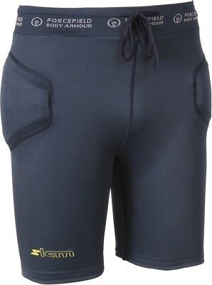Forcefield Slam Shorts Impact Shorts, M Navy