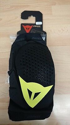 Dainese Trail Skins Knee Pads Guards MTB Dirt Jump Black/yellow
