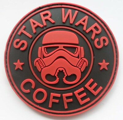 1PCS NEW STAR WARS  LOGO PVC 3D Rubber   Patch    SJK     209