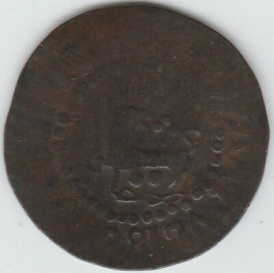 1822 Philippines Quarto Retrograde 2281 Error Copper Rare