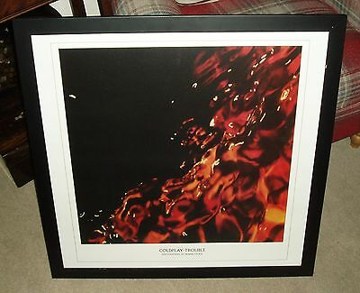COLDPLAY TROUBLE LIMITED EDITION ARTWORK PHOTOGRAPHY PRINT Sutton Coldfield