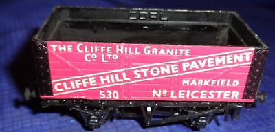 DE050 Vtg Peco The Cliffe Hill Granite Co Ltd Railway Train Car OO Gauge