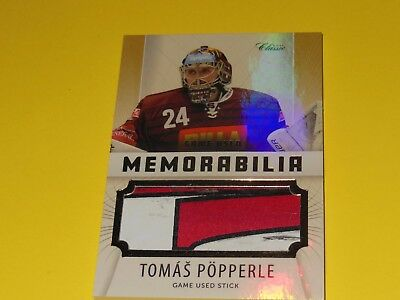 EISHOCKEY czech hockey card TOMAS PÖPPERLE GAME USED ofs 2016-17 ex- BERLIN DEL