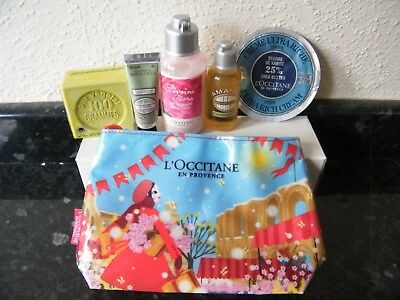 L'Occitane Amande 6 Peice Face&Body Cleansing Set All New Products