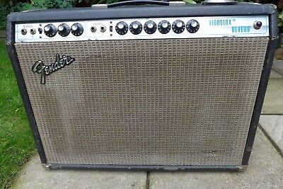 """Fender Vibrolux Reverb 1974 With Music Man 10"""" Speakers"""