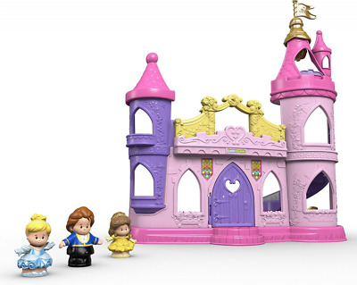 Fisher-Price Toy Disney Princess Little People Musical Dancing Palace, Belle Cin
