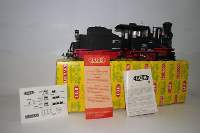 Lgb G Scale #2015 Insterburg 0-4-0 Steam Locomitive Engine & Tender, Boxed