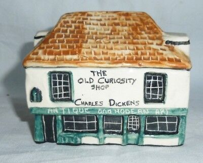 The Old Curiosity Shop Miniature Tey Style 7 x 8 x 5 cm exc.