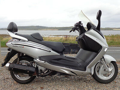 Sym Voyager Gts 250 Scooter,2009,10558 Miles