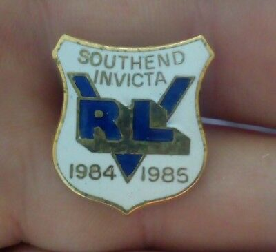 South End Invicta  Rugby League Pin Badge