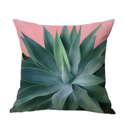 Banana Leaf Sofa Bed Home Decor Festival Mother's Day Pillow Case Cushion Cover
