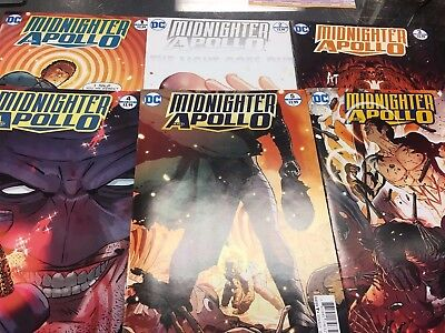 Midnighter and Apollo #1-6  (Complete Series)) DC  VF/NM+