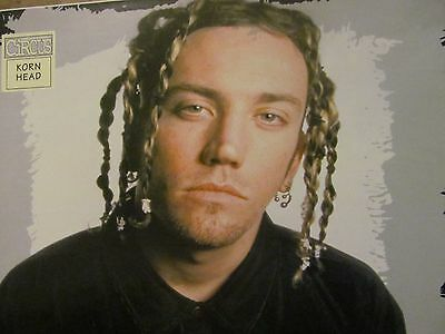 Korn, Head, Brian Welch, Full Page Vintage Pinup
