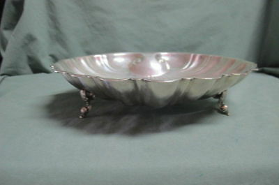 Vintage L B Silver Plate Shell Shaped Dish