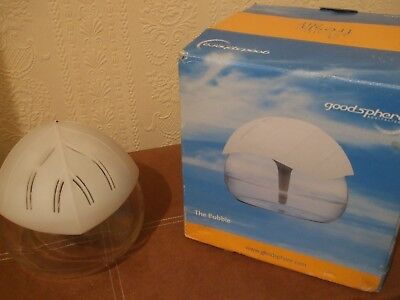 Rare to find Original Goodsphere System Air Purifier glass bowl aromatheraphy