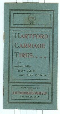Early 1900 Hartford Carriage, Automobile, Motorcycle Tires