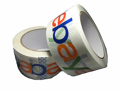 Official eBay Branded BOPP Packaging Tape - Shipping Supplies