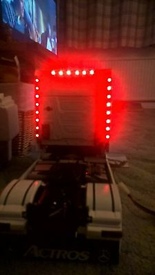 Tamiya Truck Scania Topline Rear LED Bars