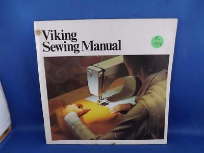 Viking Sewing Machine Instruction Manual Sewing Buttons Buckles Leather